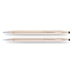 Classic Century 14 Karat Gold Filled/Rolled Gold Pen and Pencil Set With 14K Gold Filled appointments