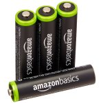 AmazonBasics AAA Rechargeable Batteries (4-Pack) Pre-charged