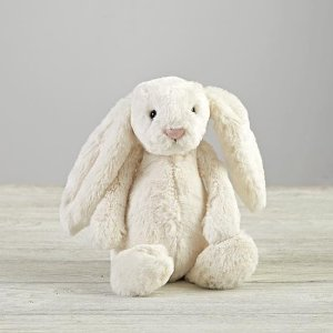 Jellycat White Bunny Stuffed Animal by The Land of Nod