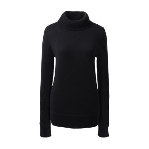 Women's Classic Cashmere Turtleneck Sweater from Lands' End