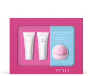 FOREO HOLIDAY CLEANSING MUST-HAVES - (LUNA PLAY) PEARL PINK (WORTH $60) @ SkinStore.com