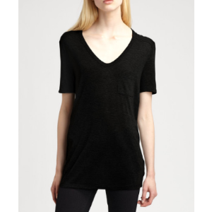 T by Alexander Wang CLASSICAL T.SHIRT WITH POCKET | Tessabit shop online