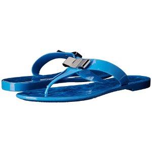 Salvatore Ferragamo Farelia Bleu Indien PVC - Zappos Luxury