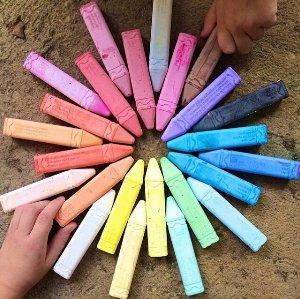 $2.97Crayola 24 Count Sidewalk Chalk (51-2024-E-000)
