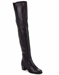 Stuart Weitzman Hitest Over-The-Knee Leather Boots