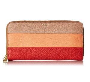 $22.00 Fossil Sydney Zip Wallet