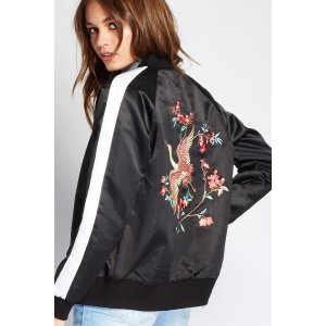 Embroidered Souvenir Jacket | Forever 21 - 2000249978
