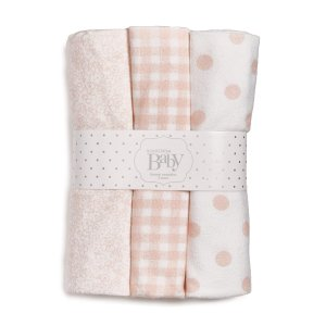Nordstrom Baby Cotton Flannel Swaddles (3-Pack)