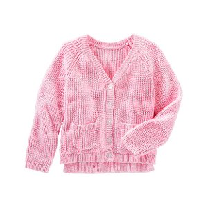Kid Girl Marled Cardi | OshKosh.com