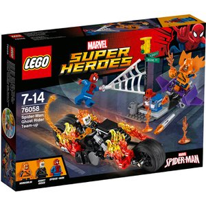 LEGO Superheroes: Spider-Man: Ghost Rider Team-up (76058) Toys | TheHut.com