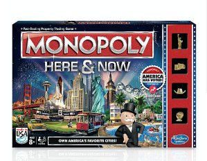 $5Monopoly Here & Now Game