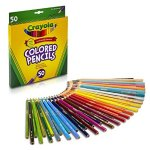 Crayola Colored Pencils 50 Count