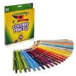 Crayola Colored Pencils 50 Count
