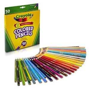 $5.9Crayola Colored Pencils 50 Count