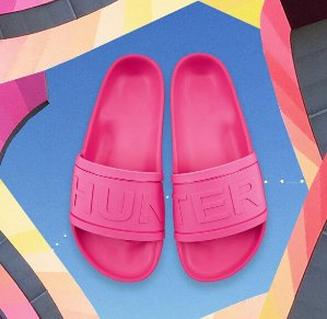 £28- £39(reg.  £55) Hunter Slides @ allsole UK