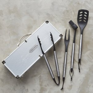 Williams-Sonoma Nonstick BBQ Tool Set | Williams-Sonoma