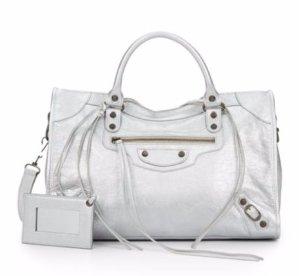 $1199.99(原价$1835)Balenciaga 银色手提包