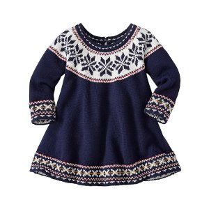 Baby Up North Sweater Dress | Baby Sale Dress