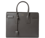 Classic Large Leather Sac de Jour Carryall by Saint Laurent Paris