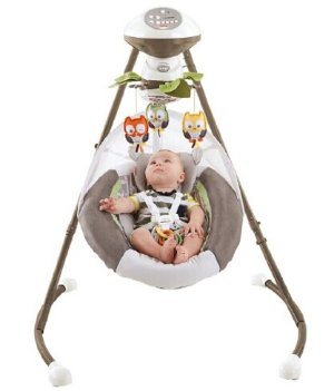 Fisher Price Cradle 'n Swing - My Little Snugabear