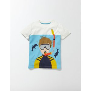 Underwater Logo T-Shirt 23053 Clothing at Boden
