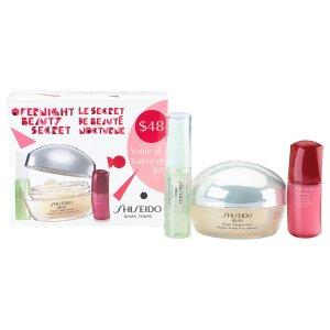 美美哒!Shiseido 资生堂保湿+美白睡美人三件套