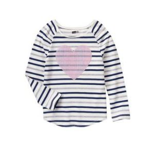 Heart Stripe Top at Crazy 8