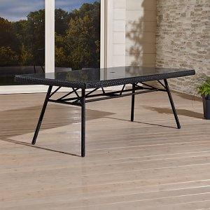 Calistoga Rectangular Dining Table   Crate and Barrel