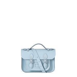 Periwinkle Blue Mini Satchel | The Cambridge Satchel Company