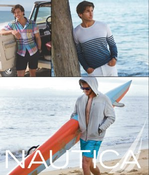 Up to 55% Off +Extra 60% Off Men Clearance @ Nautica