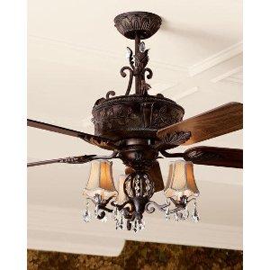 Antoinette Ceiling Fan & Light Kit