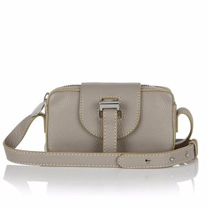 meli melo Women's Micro Box Cross Body Bag - Taupe - Free UK Delivery over £50