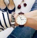 $109.5 DANIEL WELLINGTON Dapper series White Dial Ladies Watch@JomaShop.com