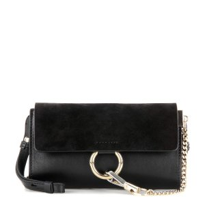 Chloé - Faye Mini leather wallet bag | mytheresa.com