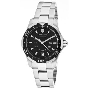 Victorinox Swiss Army Women's Alliance Sport Black Dial Stainless Steel | World of Watches