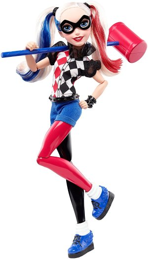 $9.59 DC Super Hero Girls Harley Quinn 12