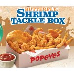 Butterfly Shrimp Tackle Box or Cajun Surf & Turf Meal