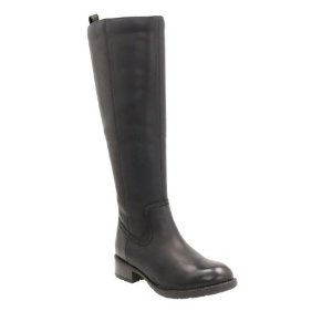 Swansea Glen Black Leather