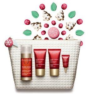 11% Off + 11 Samples Value Sets @ Clarins