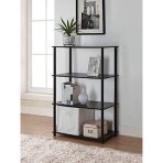 $19.88 Mainstays No Tools 6-Cube Storage Shelf, Multiple Colors