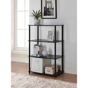 $19.88 Mainstays No Tools 6-Cube Storage Shelf, Multiple Colors