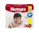 Amazon.com: Huggies Snug & Dry Diapers, Size 4, 192 Count (One Month Supply): Health & Personal Care