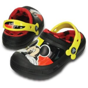 Mickey Mouse Lined Clog | Crocs