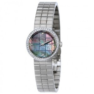 DIOR La D de Black Mother of Pearl Dial Ladies Watch