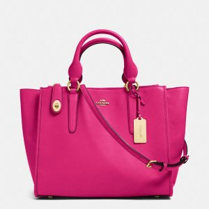 COACH Designer Handbags | Crosby Carryall In Leather