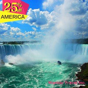 【6Day NY+NiagaraFalls+DC+Harvard】