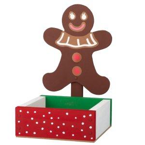 送姜饼人糖果碟Home Depot 免费的儿童手工作坊活动