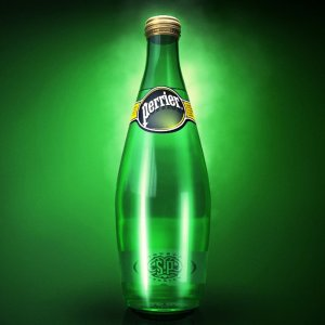 $18.62 Perrier Sparkling Natural Mineral Water, 33.8-Ounce (Pack of 12)