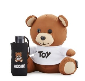 $50 Off $200 Moschino Teddy Bear w/Super-Mini Umbrella @ Neiman Marcus