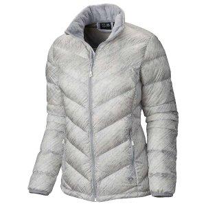Mountain Hardwear Women's Ratio Printed Down Jacket - at Moosejaw.com